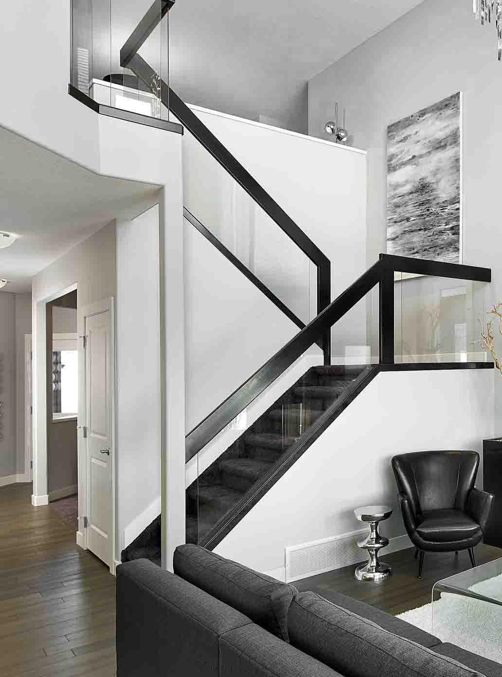 Glass Stair Handrail